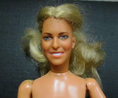 1974  Bionic Woman Doll  Lindsey Wagner Figure by by retrogal415