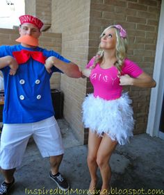 Inspired by Morning: Donald & Daisy Duck Costumes