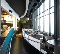 LEMAYMICHAUD   Quebec   Architecture   Interior Design   Entertainement   LUDOPLEX Architecture Design, Quebec, Interior Design, Bathroom, Living Room, Nest Design, Washroom, Architecture Layout, Home Interior Design