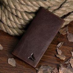 Top Quality Hot Sale Fashion JMD Men Long size Genuine Leather Wallet Credit Card Holder Coin Bag #8011-1C