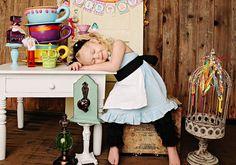 ALICE in Wonderland Inspired Sweetheart Dress Disney Princess Party Dress Up --  girls toddler costume children clothing via Etsy