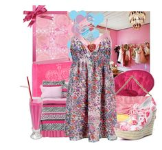 """""""Lovely Day"""" by achemosgelatosobusy ❤ liked on Polyvore featuring Juicy Couture, Tt Collection, Donna Karan, Lilly Pulitzer, Forever 21, Vivienne Westwood and Betsey Johnson"""