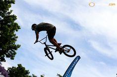 #Bicivoladores en el #HalfPipe del #MovistarFreeMusic Photo by #Metro951
