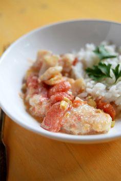 Recette de poisson à la thaï, avec citronnelle, gingembre, un aperçu de la…