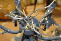 How to wire a chandelier