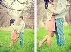 Spring Wedding Invite Picture