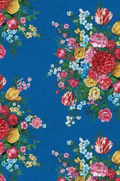 Dutch Painters Dark Blue wallpaper
