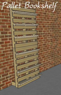 Build a Pallet Bookshelf - Free and Easy DIY Project and Furniture Plans