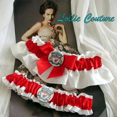 Liverpool Garters  Wedding Garters by lolliecouture on Etsy, $50.00