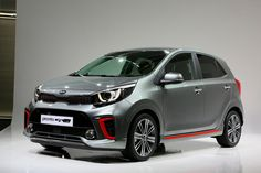 The all-new Kia Picanto city car has been revealed to European media for the first time today ahead of its public debut at the 2017 Geneva International Motor Show in March. The new Picanto will go on sale across Europe from the start of Volkswagen Up, Living In Car, Kia Picanto, Kia Motors, Geneva Motor Show, Car Storage, Daihatsu, City Car, Fuel Economy