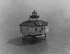 Maryland Point Lighthouse (dismantled 1963)
