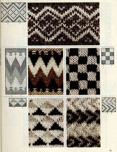 Jacquard does not happen much - for beads, knitting, weaving and dot painting. Discussion on LiveInternet - Russian Service Online Diaries Fair Isle Knitting Patterns, Fair Isle Pattern, Knitting Charts, Knitting Stitches, Knit Patterns, Hand Knitting, Stitch Patterns, Norwegian Knitting, Stitch Design