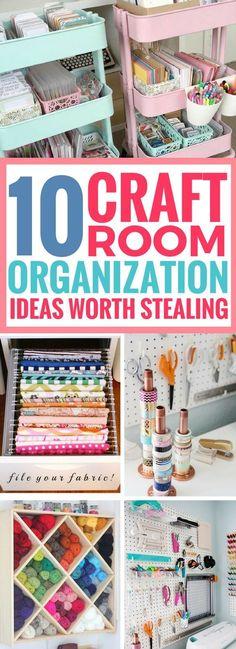 10 Best Craft Room Organization Ideas Worth Stealing – Scrap Booking
