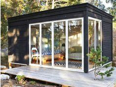 Garden Studio, Kos, Tiny House, Home And Garden, Windows, Architecture, Inspiration, Outdoor, Garden Ideas