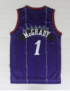 301850217 Tracy McGrady Toronto Raptors jersey 1 Throwback Retro Sewn Stitched  Basketball
