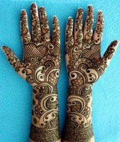 9 Best Full Hand Mehndi Designs | Styles At Life
