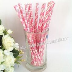EAT DRINK BE MERRY Hot Pink Paper Straws http://www.paperstrawssale.com/eat-drink-be-merry-hot-pink-paper-straws-500pcs-p-250.html