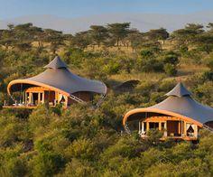 Virgin Limited Edition - Luxury tensile fabric tented suites in Kenya