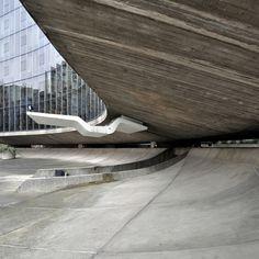 oscar niemeyer, architect: french communist party HQ, paris 1965-1971 | Flickr - Photo Sharing!