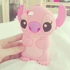 Pink Stitch phone case ~ pinterest: @xpiink ♚