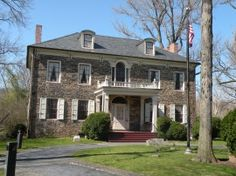 The site of my first job.  Tour guide at Fort Hunter Mansion, Harrisburg, Dauphin County, Pennsylvania