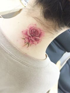Rose tattoos for women are the latest in-vogue fashion. We cover the most popular rose tattoos for women, their meanings, and examples. New Tattoos, Small Tattoos, Tattoos For Guys, Body Art Tattoos, Tatoos, Thigh Tattoos, Rosary Tattoos, Small Feminine Tattoos, Tasteful Tattoos