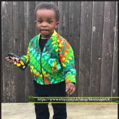 Newly listed kids bomber jacket in 3 different prints