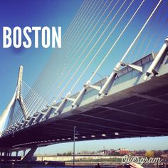 "I had experimented with a mobile app called ""Overgram"", which allows the placement of text on photo. This is a photo of mine that captured the underside of the Zakum Bridge in Boston. Boston Strong, In Boston, Text On Photo, Graphic Design Branding, Mobile App, Bridge, Mobile Applications, Loft, Bro"