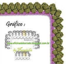 Croche - Um BARRADINHO diferenciado ...
