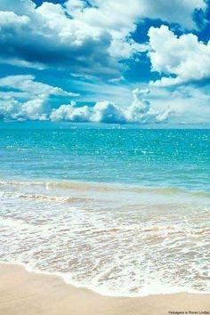MY STYLE !!! Sea And Ocean, Ocean Beach, Ocean Waves, Blue Beach, Beach Bum, Summer Beach, Beach Waves, Palm Beach, Seaside Beach