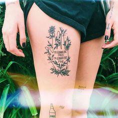 Fizemos uma seleção com tatuagens motivacionais incríveis para você colocar na pele o lembrete de que você consegue!