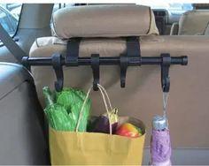 Amazon.com: Car Headrest Multi-Hanger