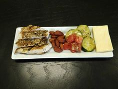 BE Easy Everyday Meal: Tender Chicken Breast, Cheddar, Balsamic Vegetables, and Almonds