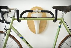 UPCYCLE FETISH | BIKE RACKS || http://www.blessthisstuff.com/stuff/living/art-decor/upcycle-fetish-bike-racks/