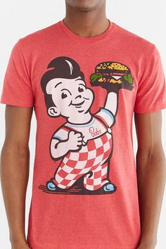 Bob's Big Boy Burger Tee