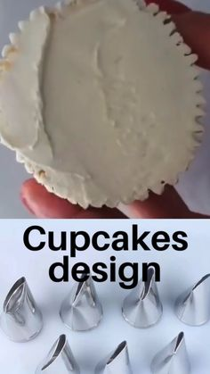 Cupcake Decorating Tips, Cake Decorating Frosting, Cake Decorating Designs, Cake Decorating Techniques, Cookie Decorating, Beginner Cake Decorating, Frosting Recipes, Cupcake Recipes, Dessert Recipes