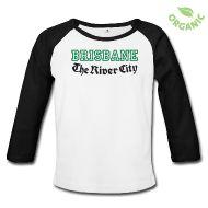 Tee shirts manches longues Bébés ~ Tee shirt manches longues bio Bébé ~ BRISBANE The River City