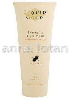 Anna Lotan Liquid Gold Intensive Hair Mask (200ml) by Anna Lotan. $23.99. Enriched with Siberian Seabbuckthorn Oil. Size: 200ml