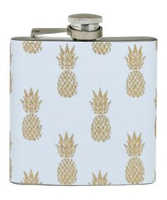 Look at this #zulilyfind! Pineapple Flask #zulilyfinds