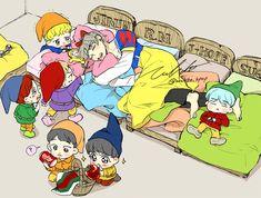 Fanart de BTS Y Ships de BTS: Namjin Yoonmin Vmin Vkoo… # Fanfic # amreading # books # wattpad Bts Chibi, Yoonmin, Bts Bangtan Boy, Bts Boys, Jung Hoseok, Jikook, Fanart Kpop, Bts Anime, Anime Teen
