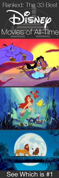 PrettyFamous.com ranked the best 33 Disney movies using viewer and critic reviews from several sources. How did you favorites fare? Find out on PrettyFamous.com.