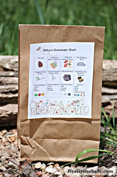 For families, like us, who LOVE the outdoors – our Nature Scavenger Hunt is a perfect way to turn nature and the outdoors into a fun activity for the kids. Whether you are camping, hiking, or just taking a walk – this would be a fun way to turn a simple outing  into a fun adventure! We have made it an easy craft for you with a free printable!