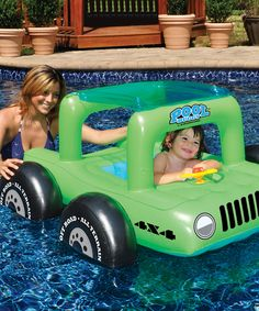 Green Pool Buggy Float, $19.99 Zulily
