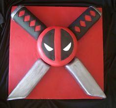 Deadpool Cake | Geek Cake Friday: 13 Lucky Deadpool Cakes