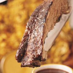 BBQ GRILLING #BBQ #Grilling Beef Ribs with Cabernet Sauce