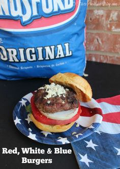 Red, White & Blue Burgers Kingsford Charcoal on sale at The Home Depot ...