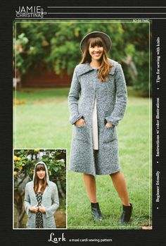 Lark sewing pattern i can make the anthro cardi of my dreams! http://www.anthropologie.com/anthro/product/4113260324013.jsp?cm_vc#/