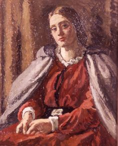 The Red Dress, 1929 - Vanessa Bell - WikiArt.org