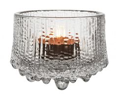 Iittala Ultima Thule Teelichtleuchter Höhe 6,5 cm