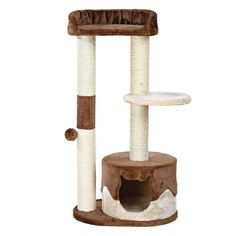 Trixie Pet Products Pilar Cat Scratching Post - I Heart My Cats Cat Tree Condo, Cat Condo, Flea Shampoo For Cats, Birthday Cake For Cat, Birthday Cakes, Angora Cats, Herding Cats, Cat Activity, Cat Scratching Post